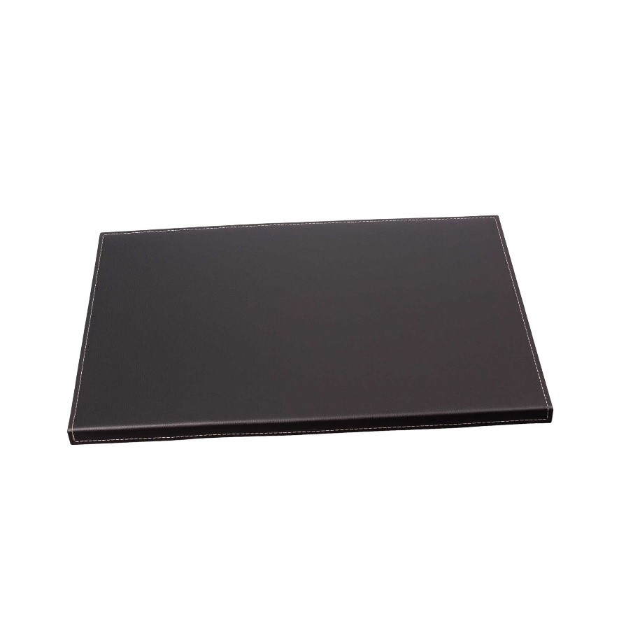 Leather Desk Pad With Folded Side